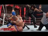 Randy Orton vs Ryback vs Roman Reigns (WWE RAW 06.04.15). Part 2