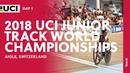 2018 UCI Junior Track World Championships Aigle CHE Day 1