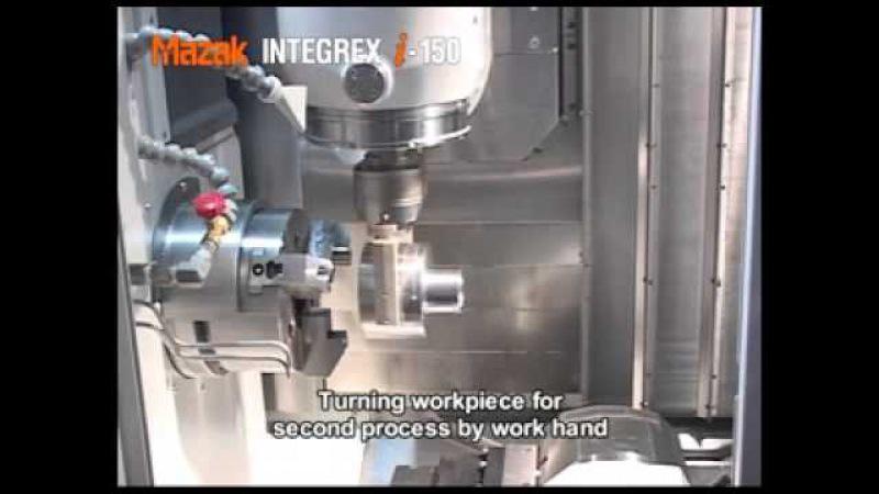 Mazak Integrex i-150 5 eksen işleme