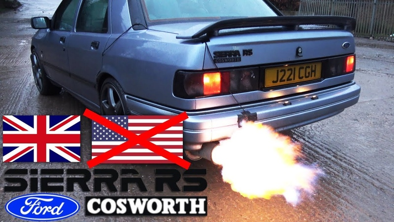 🐒 THE REAL FORD! BRITISH SIERRA RS COSWORTH REVIEW