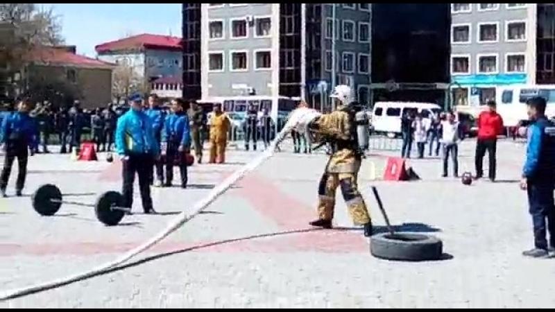пожарный кроссфит РК