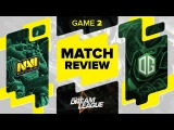 Match review: Na`Vi vs OG - Game 2 @ DreamLeague S5