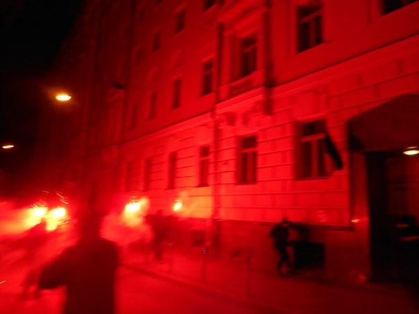 Акция у посольства