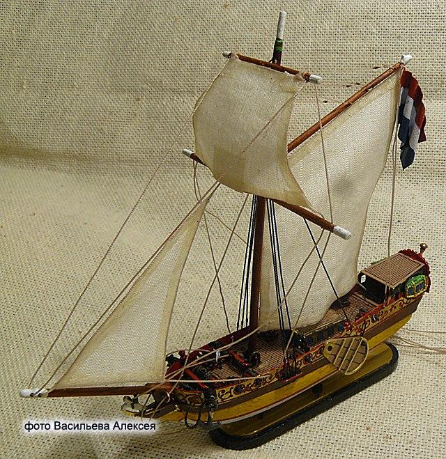 GOLDEN YACHT корабль в бутылке. Масштаб 1:300 M9m5zOtCOnk