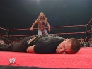 Shawn Michaels chased Randy Orton back into the ring and took him down and then connected with a superkick! 2007/10/08