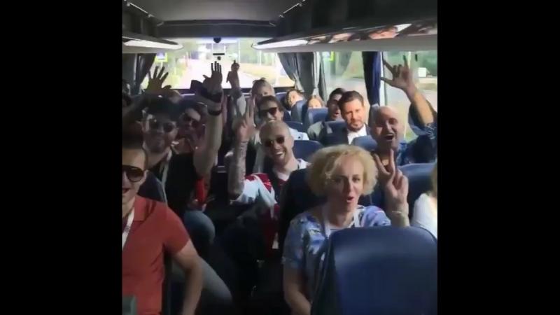 15.07.2018 перед финалом кубка FIFA