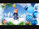 Новый год 2019. Песня Зажигаем качается земля. Прикольное поздравление мультфильм с Новым годом.