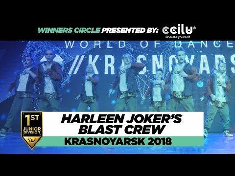 Harleen Joker's Blast Crew 1st Place Junior Winners Circle WOD Krasnoyarsk 2018 WODKRSK18