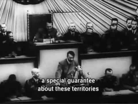 Hitler Reichstag Speech Roosevelt
