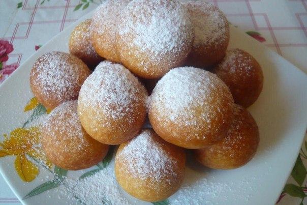 Творожные пончики в мультиварке рецепт с фото