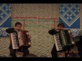 Игра на аккордеоне (дуэт): Смуглянка