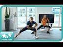 Online Fitness | Fit mit Stars | Bauch Beine Po Workout NewMoove