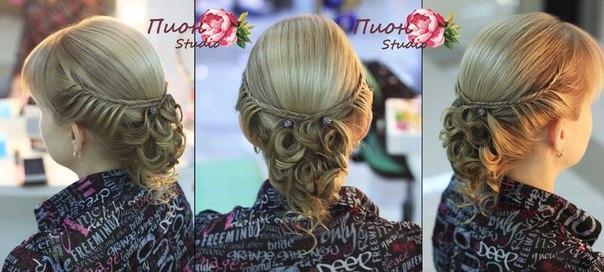 Причёски на короткую длину волос своими руками фото