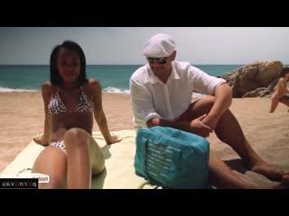 Noe milk & antonio ross [ mulattos &  pickup / deep blowjob , cum on face , tattoo , on the beach , shaved , riding dick , rolle