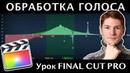 ОБРАБОТКА ГОЛОСА в Final Cut Pro ЭКВАЛИЗАЦИЯ ЗВУКА Эффект Эквалайзер