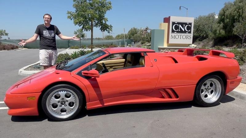 Lamborghini Diablo VT Roadster была безумным суперкаром 90-х