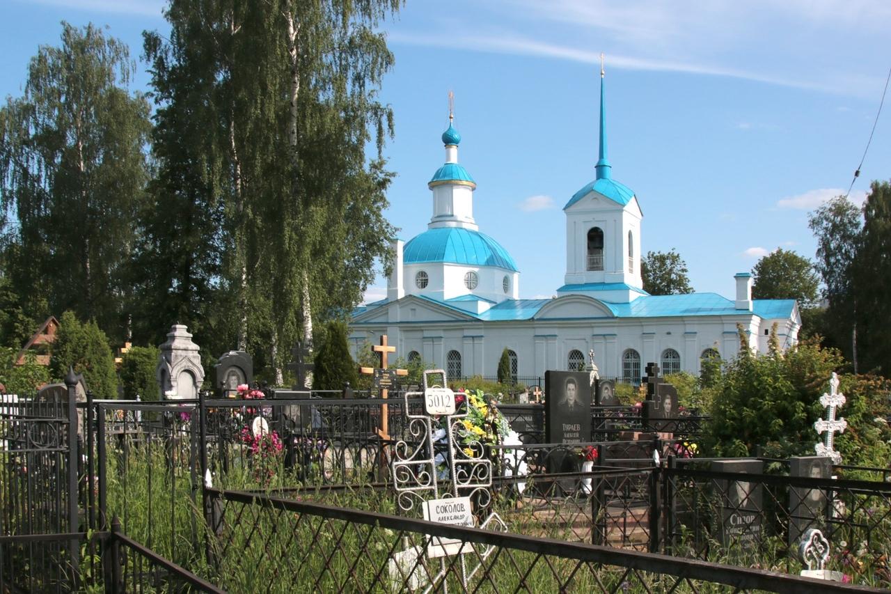 Кладбища Ярославля