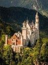 Прекрасное место Замок Нойшванштайн