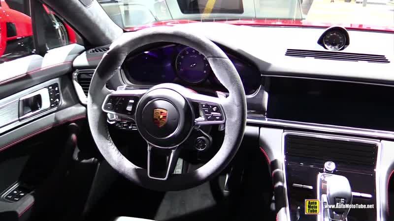 2019 Porsche Panamera GTS Sport Turismo - Exterior Interior Walkaround - Debut at 2018 LA Auto Show