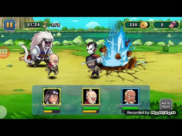обзор персонажей Onoki Sarutobi и Ay в Ninja Rebirth