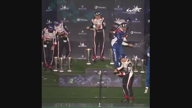 6 часов Шанхая на одном подиуме Алонсо, Баттон, Петров и Алешин WEC 2018