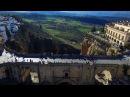 Puente Nuevo Ronda Andalusia Spain Malaga FullHD Filmed with a drone 2017