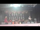 Crystal Fighters- Champion sound, Park live 29.06.13, Moscow