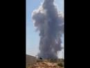 Взрыв в оружейном депо в Хаме.