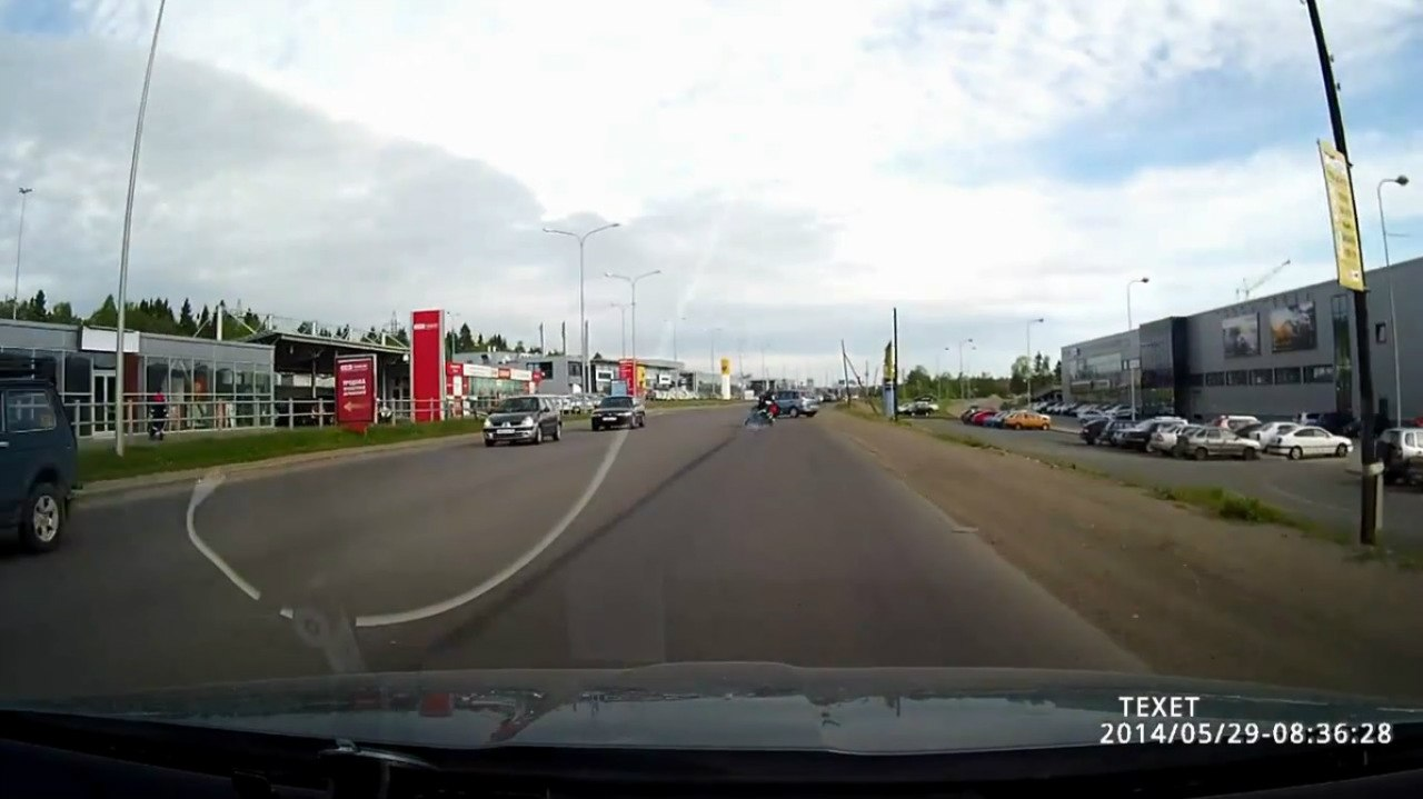 Авария в Петрозаводске 29 05 2014