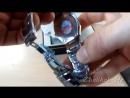 Наручные часы мужские DOM царапаем пилим напильником вольфрамовая сталь