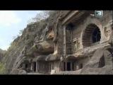 Храмы вырезанные в скалах   Аджанта   Индия   Часть 3
