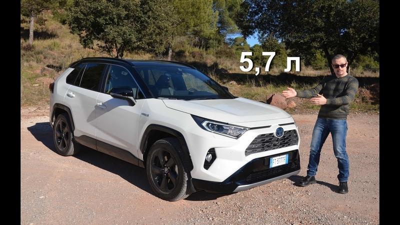 Toyota RAV4 2019 честные 5,7 л на сотню и уникальный полный привод