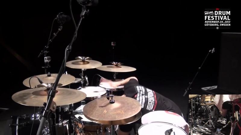 MDF 2013 - Benny Greb - Full-Length Drum Solo
