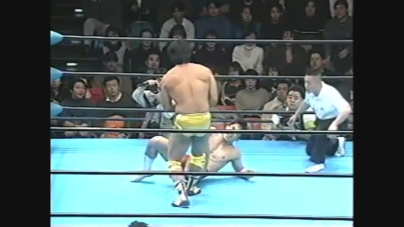 1997.01.02 - Hiroshi Hase vs. Kentaro Shiga