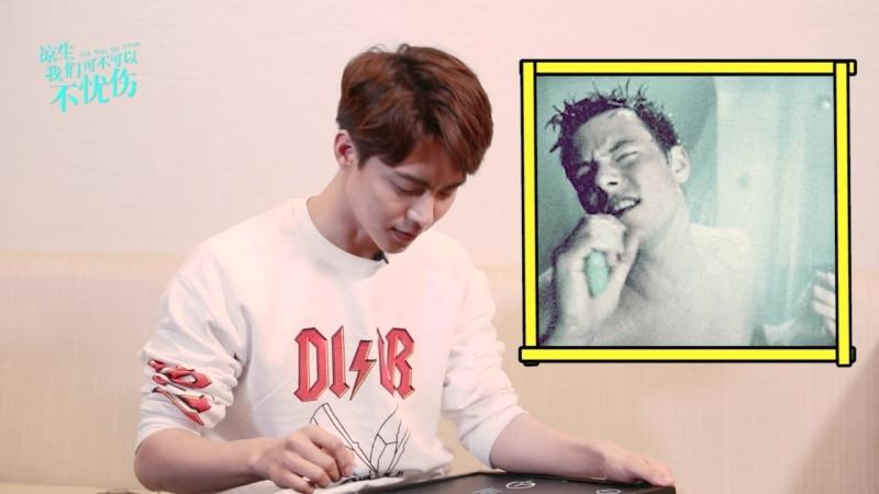 Интервью выложенное 13 10 18 о роли Лян Шэна и др