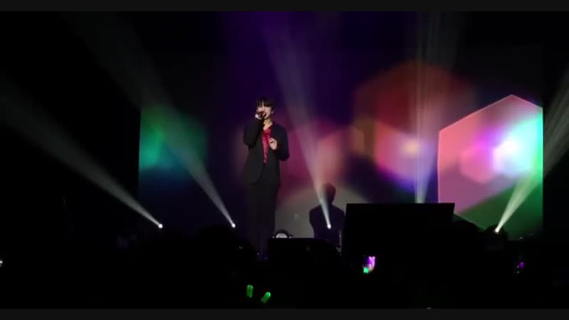 FANCAM - 08.11.18 Youngjae – Im Happy @ B.A.P 2018 FOREVER NORTH AMERICAN TOUR в Беркли