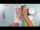 Открытка С Днём Рождения. Мастер-класс. Скрапбукинг _ Card tutorial. Natalya Yenn