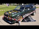 INSANE BMW E30 325i Touring Dragster with Modified M50B25 Turbo Engine Swap Walk Around