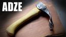 Forging an Adze Blacksmithing