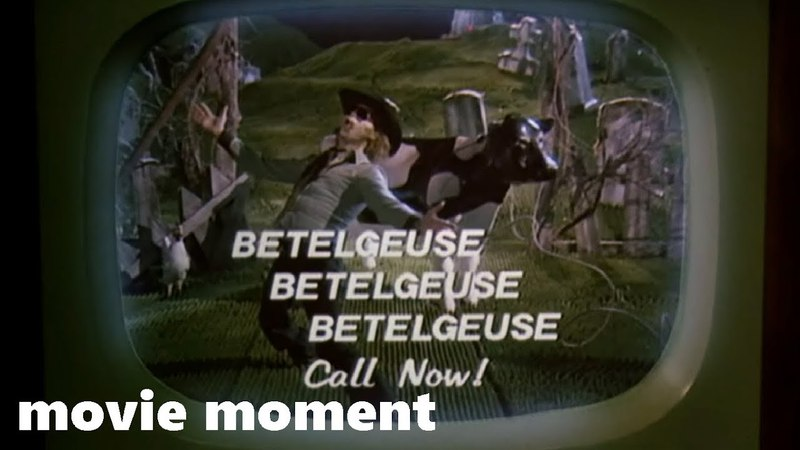 Битлджус (1988) - Битлджус дает рекламу (1/11)   movie moment