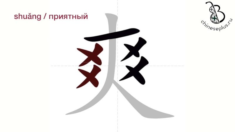 Китайские иероглифы: неочевидный порядок написания черт