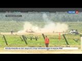 «Танковый биатлон»: в индивидуальной гонке все призовые места взяли россияне
