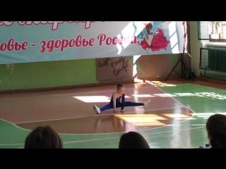 Межрайонный фестиваль по спортивной аэробике г.Оханск