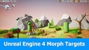 Unreal engine 4 tutorial: How to use Morph targets from Blender