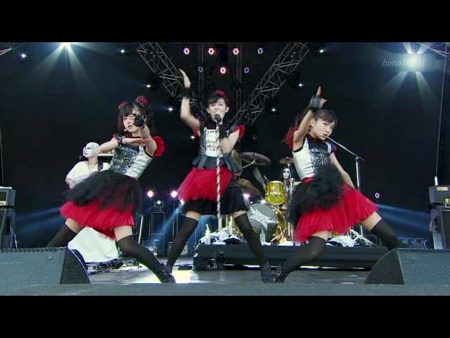BABYMETAL Headbanger 「ヘドバンギャー!」Live combination Inazuma fes