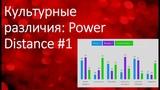 Культурные различия Power Distance #1 Inna Molitoris