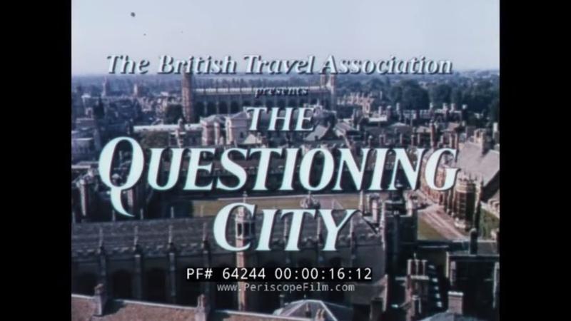 1960s CAMBRIDGE UNIVERSITY PROMOTIONAL FILM CAVENDISH LABORATORY 64244