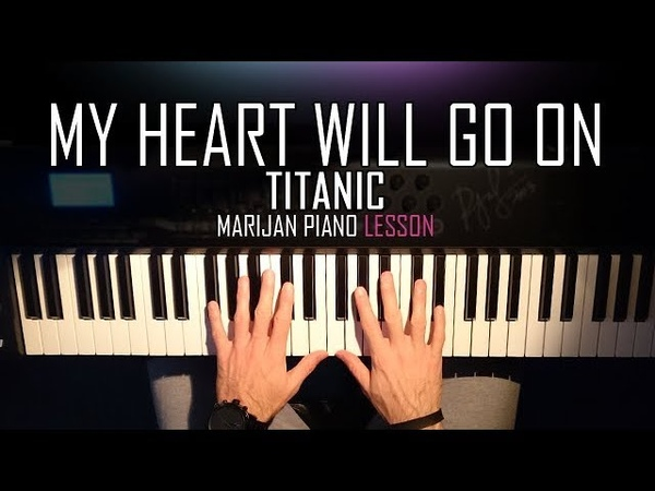 How To Play Titanic - My Heart Will Go On | Piano Tutorial Lesson Sheets