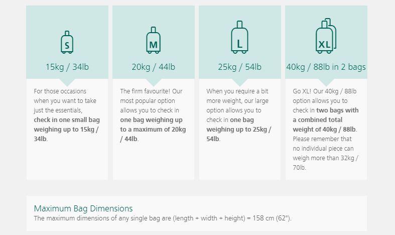 Инфографика: правила провоза багажа на внутриевропейских рейсах Aer Lingus