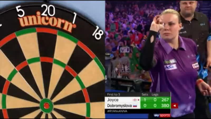 2019 World Darts Championship Round 1 Joyce vs Dobromyslova